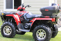 LOW KM!! Polaris Sportsman 800 EFI Twin