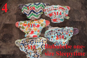 Cloth diapers: Bububebe fitted Sleepytime one-size overnight