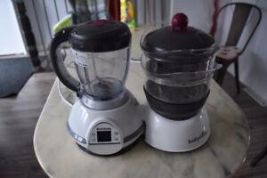Babymoov Nutribaby - 5 en 1 - robot bébé : Baby food processor