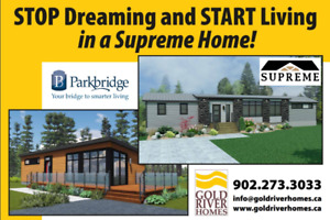Supreme Homes and Parkbridge - What a Team!