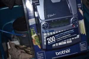 BRAND NEW SEALED Brother P-Touch PT-1880 Label Maker