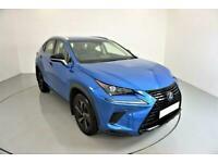 2018 BLUE LEXUS NX300H 2.5 SPORT HYRBID AUTO ESTATE CAR FINANCE FR £514 PCM