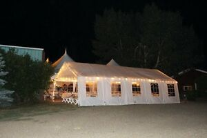 Wedding party tent  16'x32'