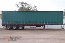 1997 Freighter 44FT Flat Top Curtainsider Semi Trailer Lockwood Bendigo City Preview