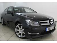 2013 13 MERCEDES-BENZ C CLASS 2.1 C220 CDI BLUEEFFICIENCY AMG SPORT 2DR AUTOMATI