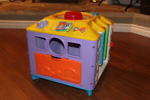 Musical Activity Cube Toy