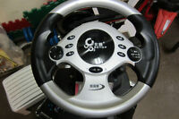 BETOP STEERING WHEEL FOR PC or SONY PS3 514-996-9207