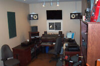 Record your talent in studio or on location