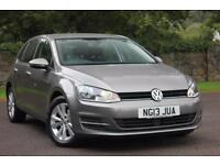 2013 VOLKSWAGEN GOLF SE TDI BLUEMOTION TECHNOLOGY HATCHBACK DIESEL