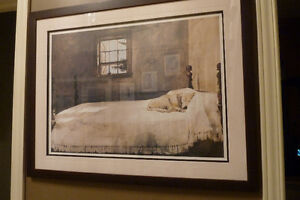 Professionally Framed Print – 'Master Bedroom' by Andrew Wyeth Kitchener / Waterloo Kitchener Area image 3