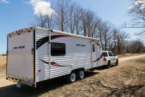 21ft Rush Toy Hauler Trailer