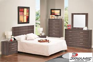 Grey 3-Piece Bedroom Set