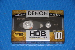 Blank VHS Tapes & Blank High Bias/Metal Cassettes