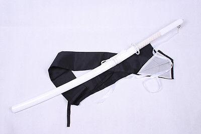 Bleach Kuchiki Rukia Cosplay Kostüm Waffe weapon Weiss white Sword Schwert neu