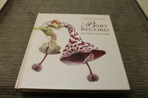 baby record or memory book