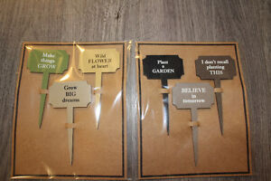 FUNNY LABELS FOR YOUR GARDEN !