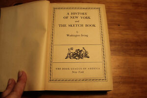 A History of New York & The Sketch Book - Washington Irving