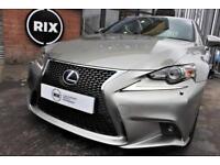 2013 63 LEXUS IS 2.5 300H F SPORT 4D AUTO 220 BHP
