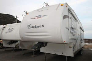 2006 Coachman Chaparral Fifthwheel Strorage untill May
