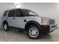2007 56 LAND ROVER DISCOVERY 2.7 3 TDV6 GS 5DR 188 BHP DIESEL