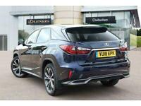 2018 Lexus RX ESTATE 450h 3.5 Luxury 5dr CVT Auto SUV Petrol/Electric Hybrid Aut