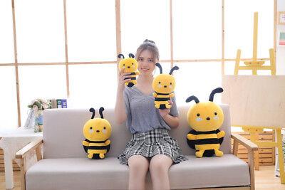 Cute Bee Dolls Stuffed Plush Pillow Sofa Home Decor Toys Cushion Gifts - Bee Stuffed Animal