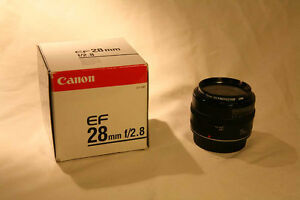 Canon 28mm F/2.8 EF Mount Lens