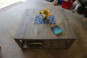 Classic/Rustic solid wood coffee table | Quality |