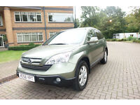 SOLD NOW 2008 Honda CR-V 2.4 Auto 4x4 Left hand drive lhd UK Registered