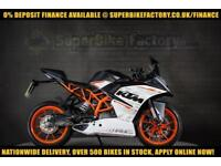 2016 16 KTM RC 390CC 0% DEPOSIT FINANCE AVAILABLE