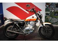 SUZUKI TU 250 GRASS TRACKER, WHITE/ORANGE, RARE JDM MOTORCYCLE