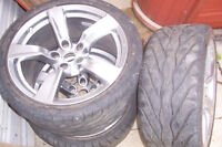 Nissan (3) 370 Wheels with tires