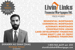 Contact for Residential & Commercial Mortgages