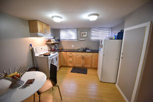 RENT Readjusted- UNIVERSITY AREA VERY CLEAN BASEMENT SUITE