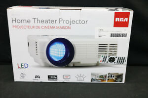 RCA LED Home Theater Projector RPJ112 (#19061)