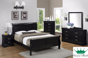 Brand NEW Louis Phillippe Complete Queen Bed! Call 306-343-2155!