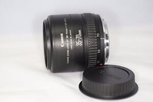 CANON EOS EF 35-70mm F/3.5-4.5 AF LENS MADE IN JAPAN COMME NEUF