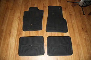 Ford Ranger rubber floor mats