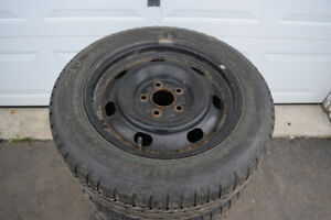 Ford Fusion 205/60/16 BF Goodrich Snows On Rims 75% Tread