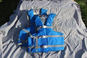 2 adult life vests