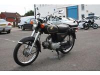 HONDA CD90 HA03, 1994, BLACK, VERY DIFFERENT CLASSIC MOTORCYCLE CBT LEGAL