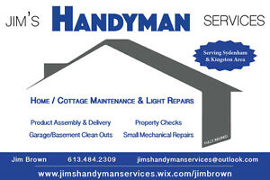 Jim's Handyman Services Kingston Kingston Area image 2