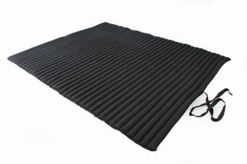 Rollbare Matratze rollbare matte 150x200 schwarz baumwolle riesig kapok matratze