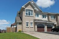 Well located Town Home end unit on corner lot in Orleans, Ottawa