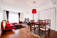 Modern Bois Franc Furnished Condo for Rent Saint Laurent