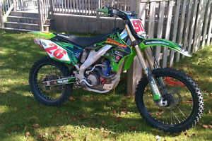 KX250F really good condition