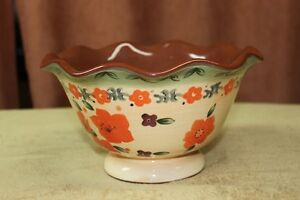 "Serving Bowl ""Syle Eyes"" by Baum Bros.Tuscan Floral Collection Kingston Kingston Area image 3"
