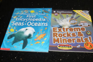 Extreme Rock/Minerals + The First Encyclopedia of Seas & s