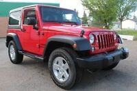 2014 JEEP SPORT MANUAL 2 DOOR JUST IN ON TRADE !! 16W41346A Edmonton Edmonton Area Preview