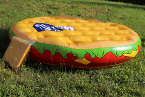 Inflatable Hamburger Pool Lounger